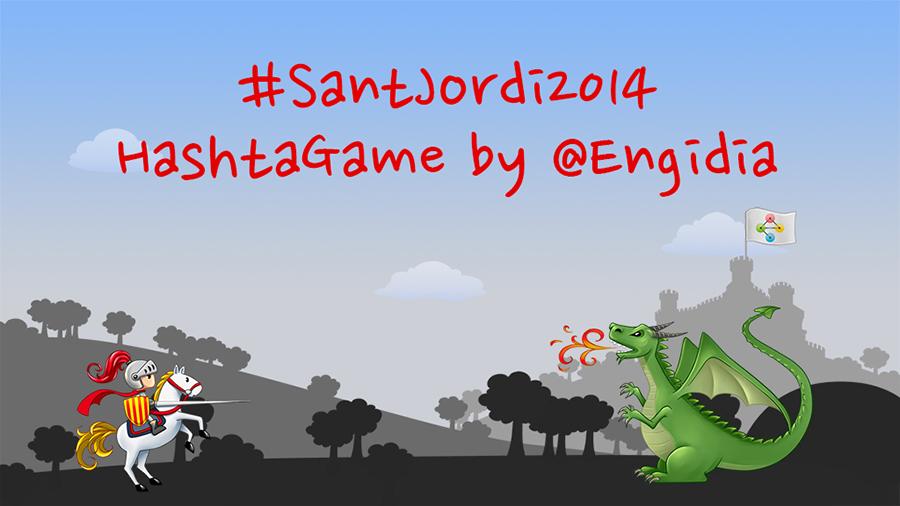 Sant Jordi 2014 - HashtaGame - Engidia