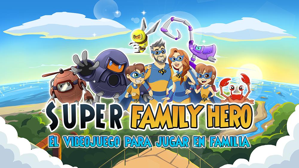 Super Family Hero - videojuego para jugar en familia