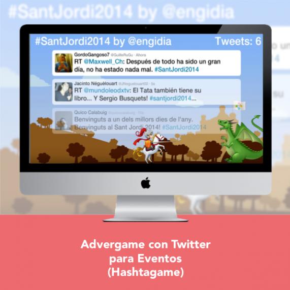 Advergame con Twitter para Eventos - Engidia