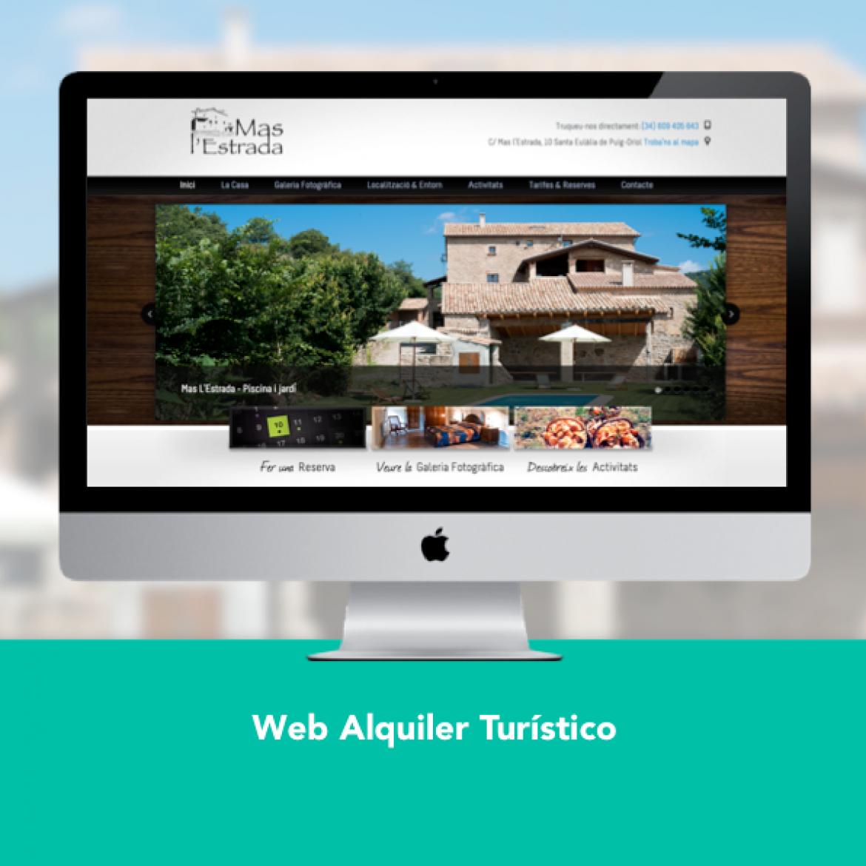 Diseño Web Alquiler Turístico - Engidia