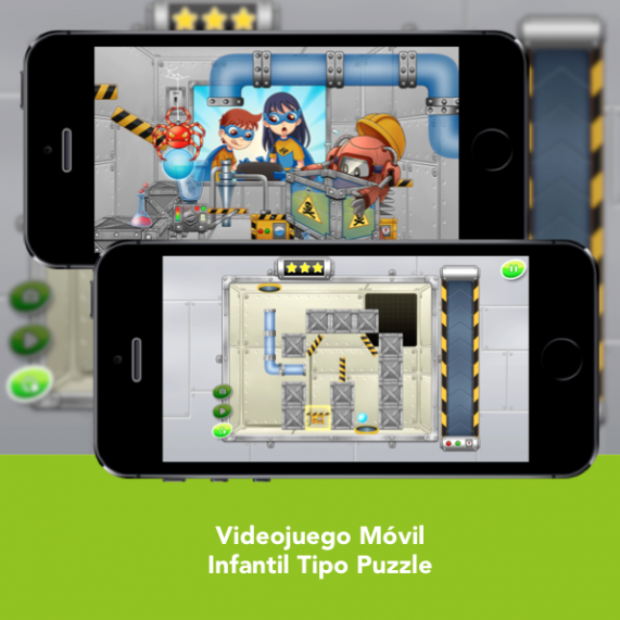 Videojuego Movil Infantil - SFH Augmented Machine - Engidia