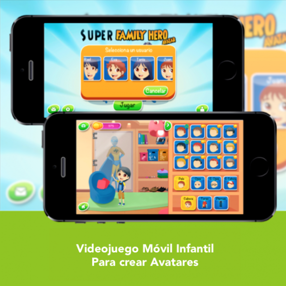 Videojuego Movil Infantil - SFH Avatar - Engidia