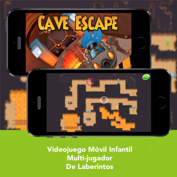 Videojuego Movil Infantil - SFH Cave Escape - Engidia