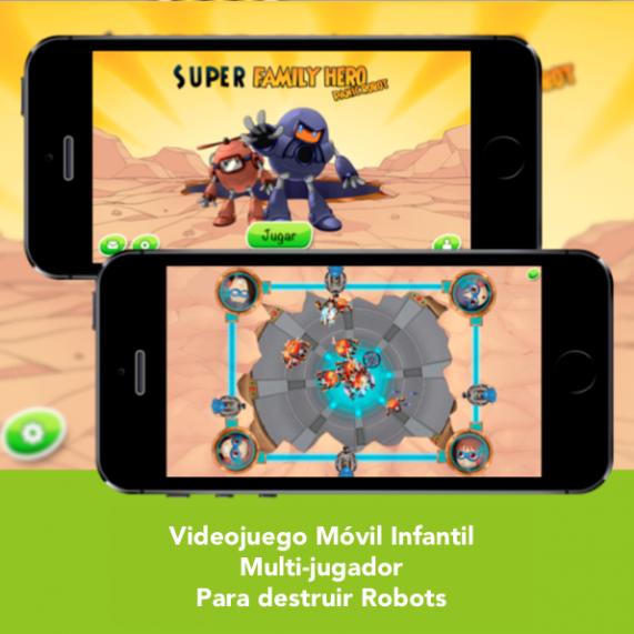 Videojuego Movil infantil y multijugador - SFH Panic Robot - Engidia