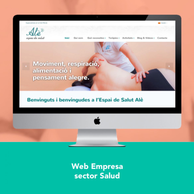 Diseño Web Espai Ale - Engidia