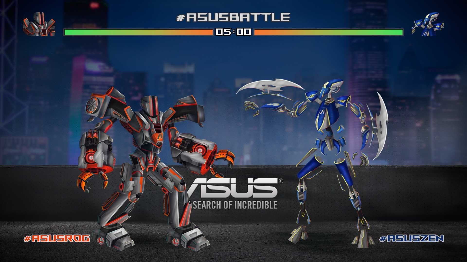Advergame-Asus-Battle-Hashtagame